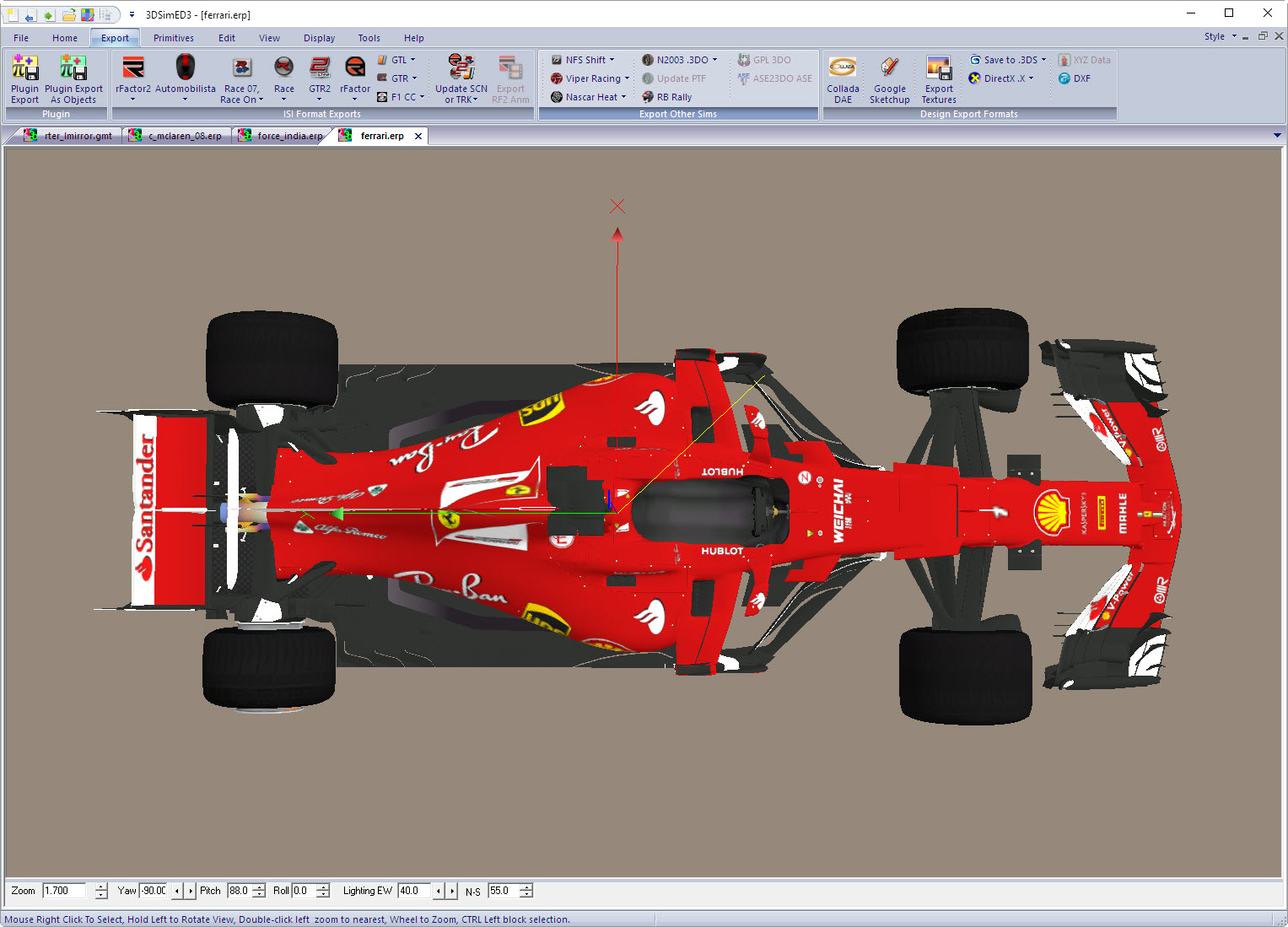 SimGarage | Home to 3DSimED